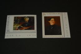 K14765- Set   MNh Luxembourg -1996- SC. 942-943- Portarit Of Munkacsy By Edouard Charlemont ,Marie Munchen By Munkacsy - Arte