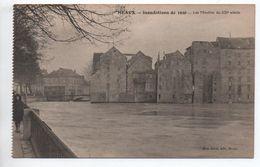 MEAUX (77) - INONDATIONS DE 1920 - LES MOULINS DU XII° SIECLE - Meaux