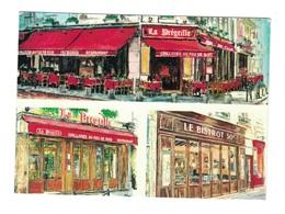 PARIS- Restaurant LA PRÉGRILLE - Rue SAINT-SÉVERIN - Bar, Alberghi, Ristoranti