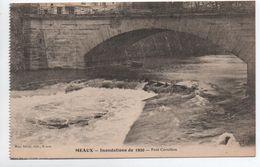 MEAUX (77) - INONDATIONS DE 1920 - PONT CORNILLON - Meaux