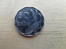 Nigeria  50  Kobo  1991  Km 13 - Nigeria