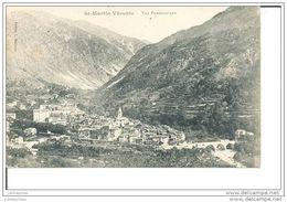 SAINT MARTIN DE VESUBIE VUE PANORAMIQUE CPA BON ETAT - Saint-Martin-Vésubie