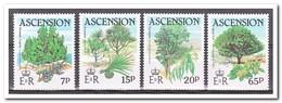 Ascension 1985, Postfris MNH, Trees - Ascension