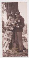 26389 Dix 10 Photos 5x11cm Amoureux Couple Semi érotique Baiser Homme Femme -PC Paris 117 Bonne Fete - Personnes Anonymes