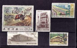 LOT DE TIMBRES OBLITERE - Japon