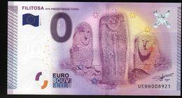 France - Billet Touristique 0 Euro 2015 N°8921 (UEBB8921) - FILITOSA, SITE PREHISTORIQUE CORSE - EURO