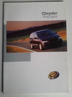 Dep050 Depliant Advertising Auto Car Motore Sport Engine Chrysler Voyager Monovolume - Automobili