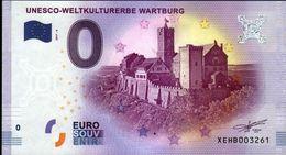 ALLEMAGNE - Billet Touristique 0 Euro 2017 N°3261 (XEBH3261) - UNESCO-WELTKULTURERBE WARTBURG - EURO