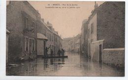 MEAUX (77) - INONDATION DES 25,26, ET 27 JANVIER 1910 - RUE DE LA JUSTICE - Meaux