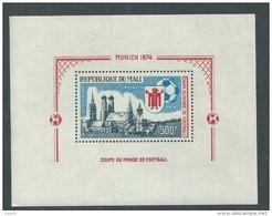 MALI  BF  N° 8 XX Coupe Du Monde De Football.  Le Bloc Sans Charnière, TB - Malí (1959-...)