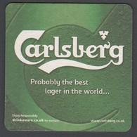 Beer Mat Carlsberg Unused - Bierdeckel