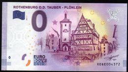 ALLEMAGNE - Billet Touristique 0 Euro 2017 N°4372  (XEQE4372) - ROTHENBURG O.D. TAUBER , PLONLEIN - EURO