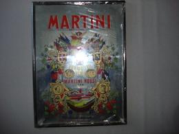 Miroir   Martini Vermouth Neuf Encore Emballé 39X29 Cm - Mirrors