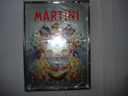 Miroir   Martini Vermouth Neuf Encore Emballé 39X29 Cm - Miroirs