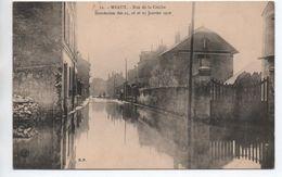 MEAUX (77) - INONDATION DES 25,26, ET 27 JANVIER 1910 - RUE DE LA CRECHE - Meaux