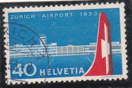 Suisse 1953 : Aéroport De Zürich-Kloten - No 313 Proprement Oblitéré Zürich - Covers & Documents