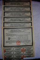 EMPRUNT OTTOMAN DETTE CONVERTIE UNIFIEE 3% 1933 (lot De 6) - Shareholdings