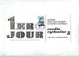 Carte Fdc 1966 Verdun Victoire Publicite Medicale - 1960-1969