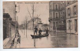 MEAUX (77) - INONDATIONS DE 1920 - RUE GAMBETTA - Meaux