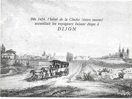 Hotel De La Cloche à Dijon ( Vœux ) - Hotels & Restaurants