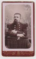 26391 Photo Carte Visite -Banque De France Photographe Batllet 11 Rue Radziwill Paris -soldat Militaire 29 - Guerre, Militaire