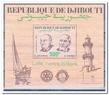 Djibouti 1987, Postfris MNH, Fight Against Lepra - Djibouti (1977-...)