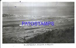 87147 VENEZUELA AIRPORT AEROPUERTO DE MAIQUETIA AVIATION CIRCULATED TO ITALY POSTAL POSTCARD - Venezuela