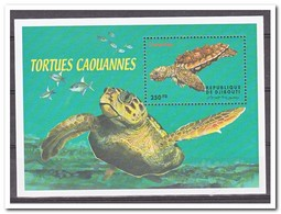 Djibouti 2000, Postfris MNH, Animals, Turtles - Djibouti (1977-...)