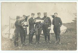 Rare CPA Groupe D'officiers Du 53ème R.I Régiment Infanterie Perpignan Collioure Le Perthus 66 - Oorlog 1914-18