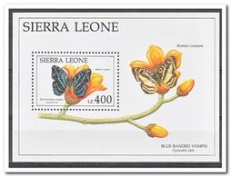 Sierra Leone 1991, Postfris MNH, Butterflies - Sierra Leone (1961-...)