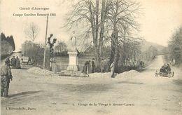 63 - BOURG LASTIC - CIRCUIT D'AUVERGNE - COUPE GORDON BENNETT 1905 - VIRAGE DE LA VIERGE - PUY DE DOME - VOIR SCANS - France