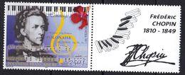 Polynésie N° 603 ** Frédéric Chopin - Ungebraucht