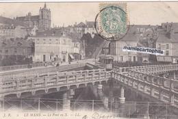 LE MANS - Sarthe - Le Pont En X - CPA - - Le Mans