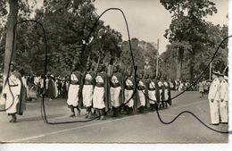 CPSM. PF. OUAGADOUGOU.  Les Gardes. Cercle Au Cours D'un Défilé. Diffusion Africaine Du Livre OUAGADOUGOU HAUTE VOLTA - Burkina Faso