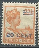 Indes Neerlandaise    - Yvert N° 127 *- Po56807 - Niederländisch-Indien