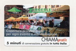 Telecom - Scheda Chiama Gratis - 2001 - ZINGERLE METAL - 5 Minuti Di Conversazione Gratuita - NUOVA - (FDC8303) - [2] Sim Cards, Prepaid & Refills