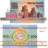 Biélorussie - Belarus 200 RUBLEI (1992) Pick 9 SUP (XF) - Belarus