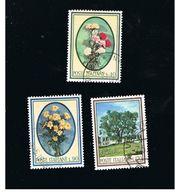 ITALIA REPUBBLICA  - SASS. 1020.1023       - 1965           FLORA  -      USATO - 6. 1946-.. Repubblica