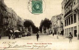 ALICANTE, PASEO DE MENDEZ NUÑEZ - Alicante