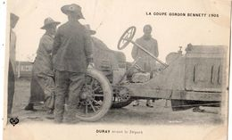 COUPE GORDON BENNETT 1905 PILOTE DURAY AVANT LE DEPART - Otros
