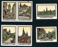 CINDERELLA : GERMANY - ULM AN DER DONAU (6 STAMPS) - Cinderellas