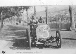 COUPE GORDON BENNETT 1905 PILOTE JENATZY (ALLEMAGNE ) SUR SA MERCEDES - Autres
