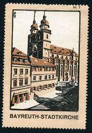 CINDERELLA : GERMANY - BAYREUTH, STADTKIRCHE - Cinderellas