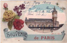 Souvenir De Paris Gare De Lyon - France