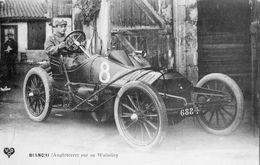 COUPE GORDON BENNETT 1905 PILOTE BIANCHI (ANGLETERRE) SUR SA WOLSELEY - Autres