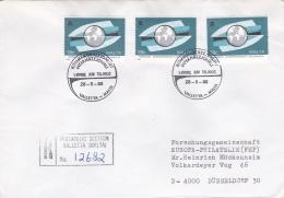 Malta Registered Cover Posted Valetta 1988  (SKO1-52) - Malta