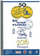 X NUMERO UNICO CIRCOLO FILATELICO TERMINI IMERESE 100 TARGA FLORIO  40 PAG. FOTO - Car Racing - F1