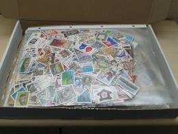 Karton Mit 1 Kg Kiloware BRD Sondermarken Ohne Papier Gestempelt Siehe Bilder - Timbres