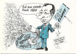 Syndicat FORCE OUVRIERE - J'ai Bon Espoir Pour 1984 - ILLUSTRATEUR - Syndicats