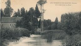 (CPA 86)  LES COINDRES-PAR-NAINTRÉ  /  Une Chute D'eau Du Clain - - France